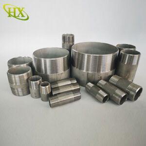 Stainless steel pipe nipple